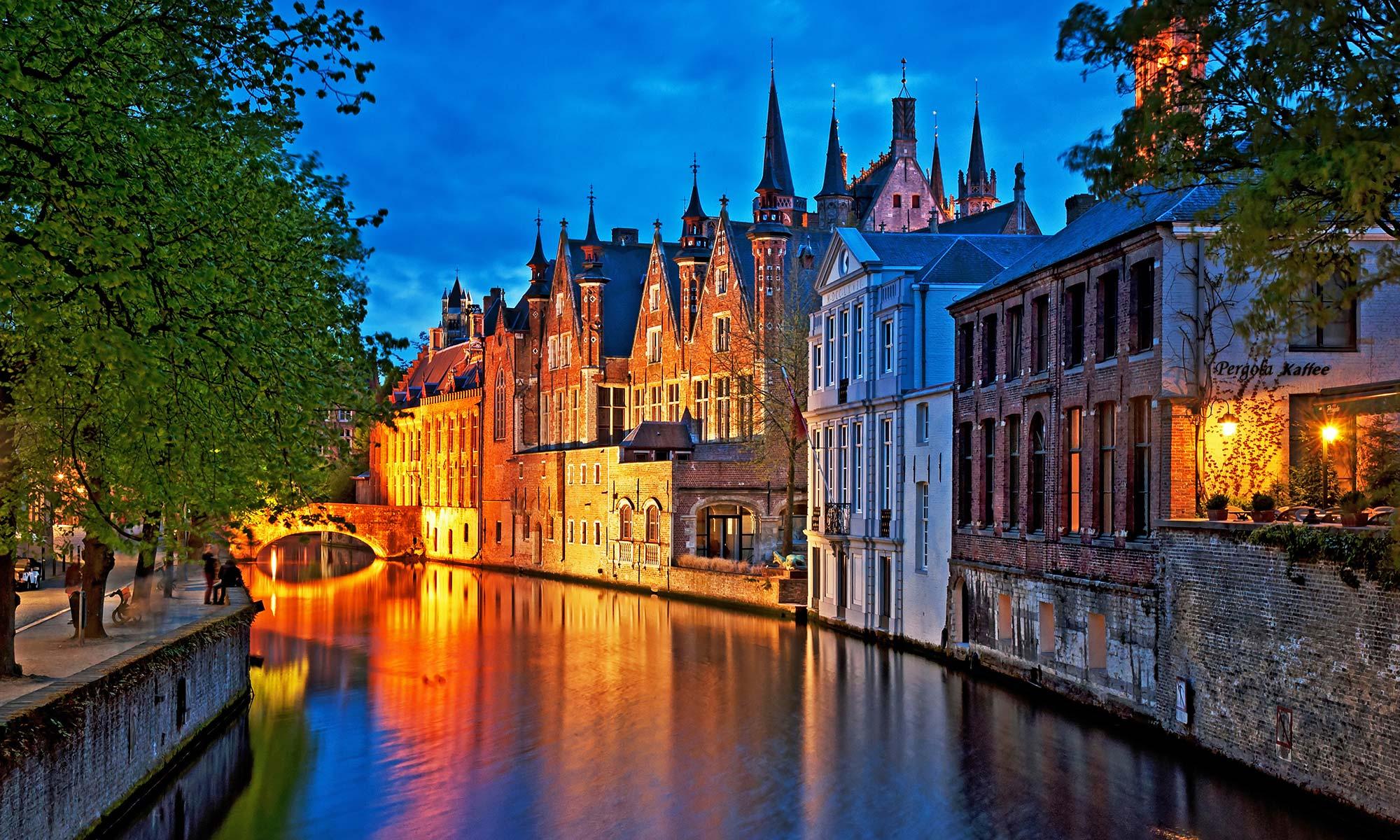 Belgium rivieren en stedendating