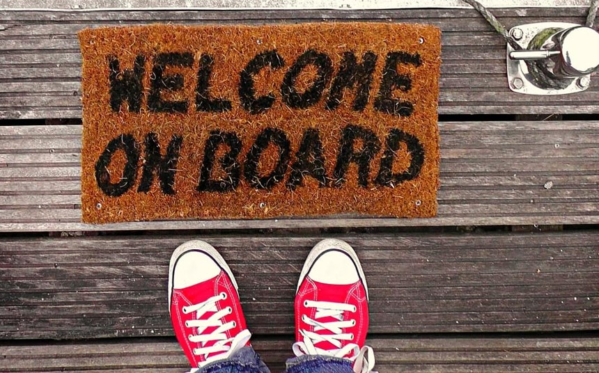 The art of rolling out the welcome mat
