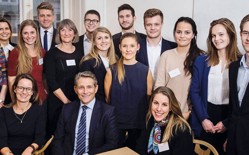 London TV goes behind the scenes of global student talent initiative
