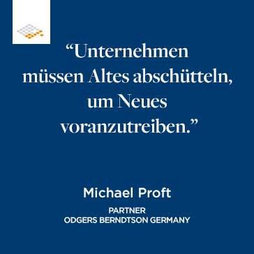 Zitat Michael Proft | Odgers Berndtson
