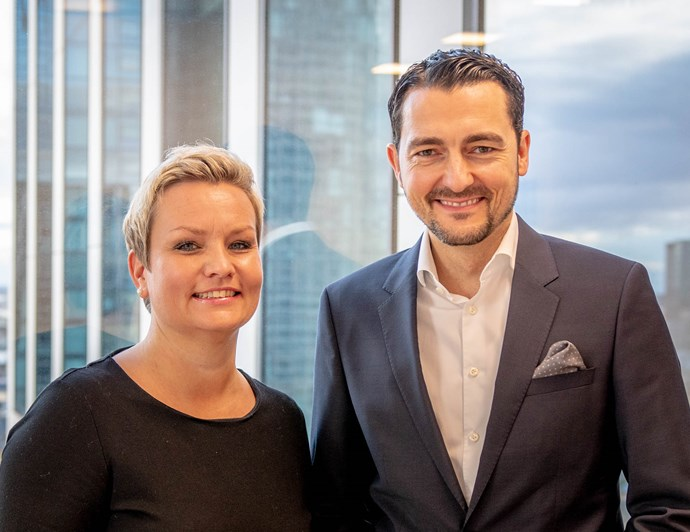 Neue Geschäftsführung Katja Hanns-Terrill und Daniel Nerlich | Odgers Berndtson