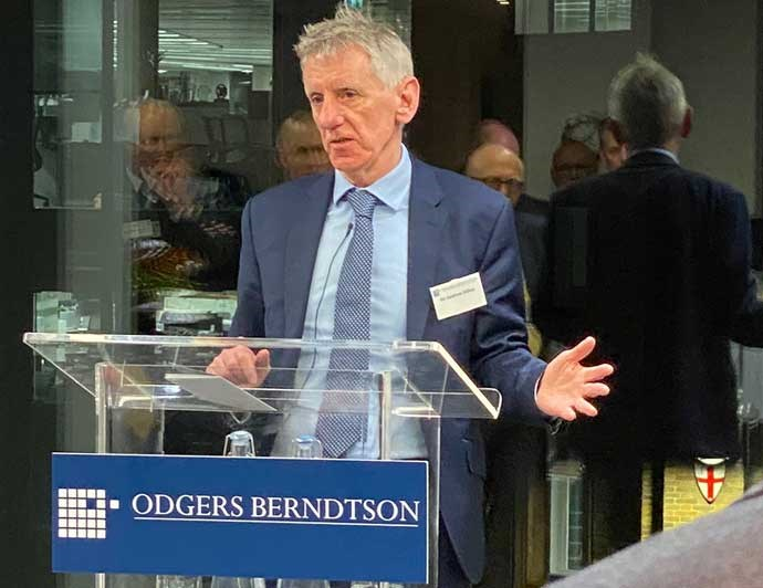 Sir Andrew Dillon Odgers Berndtson Life Sciences Event