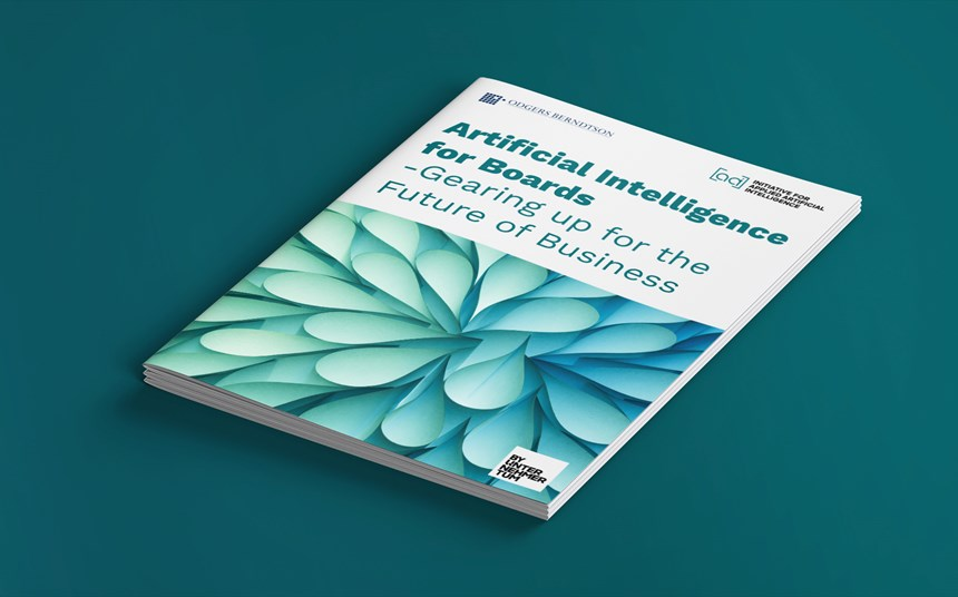 'Gearing up for AI' Report: a guide to what every board member needs to know and do.